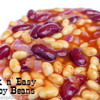 Quick 'n' Easy Cowboy Beans