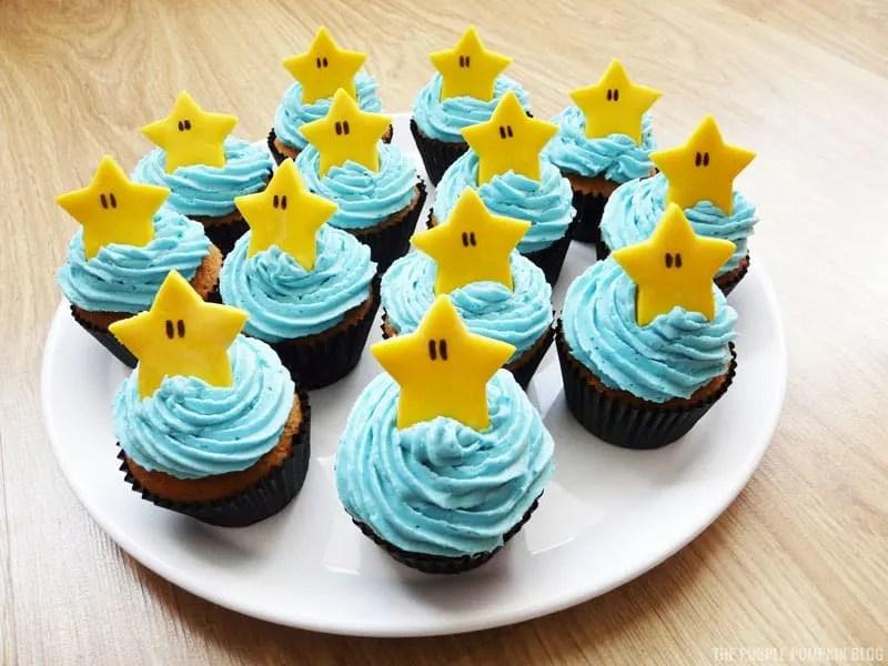Nintendo Cupcakes