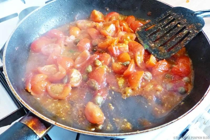 Tomato-Caper Sauce