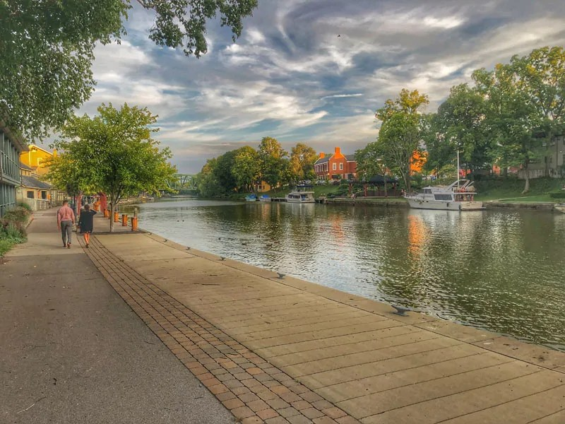 Erie Canal, Pittsford | Photo Credit: Calin Lawrence
