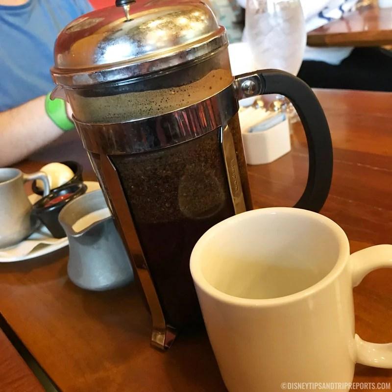Cafetiere of Kona Coffee