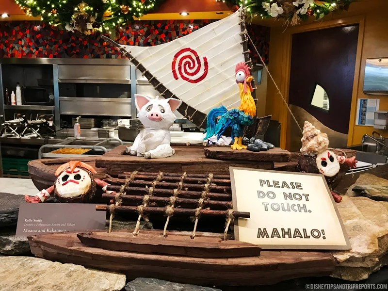 Moana Chocolate Display