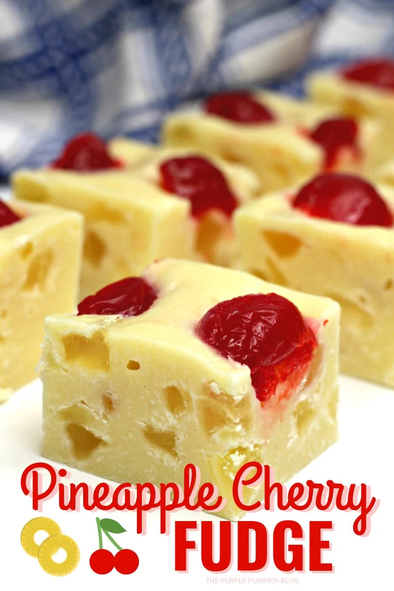 Pineapple Cherry Fudge