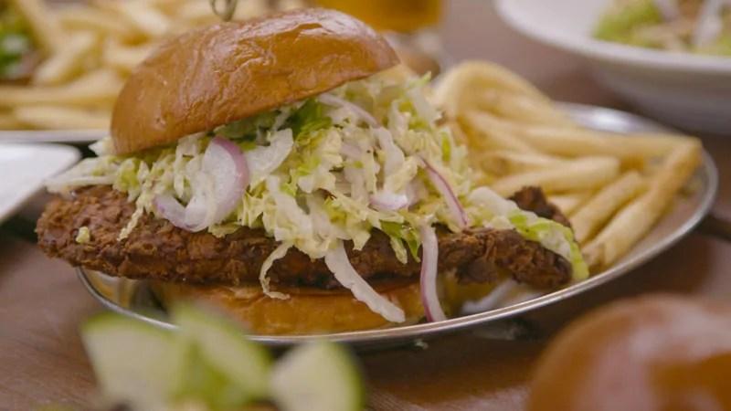 Burger and Fries - Santa Barbara, California