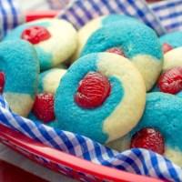 Cherry Almond Cookies Recipe