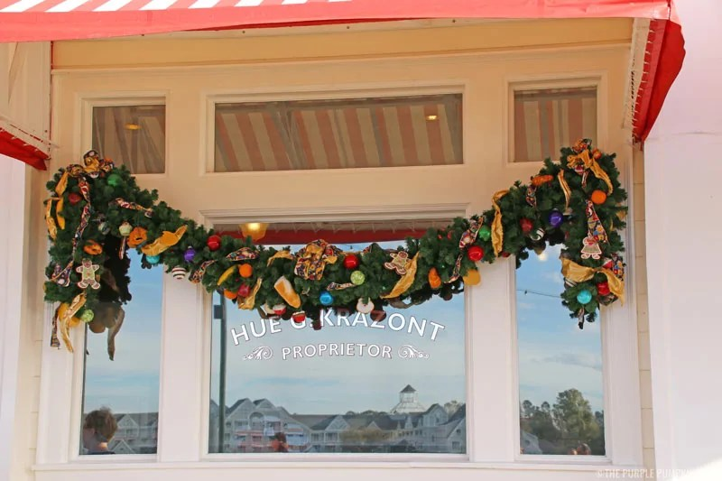 Disney's Boardwalk Christmas Garland