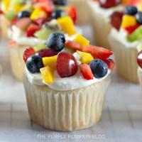 Fruit Salad Cupcakes Recipe