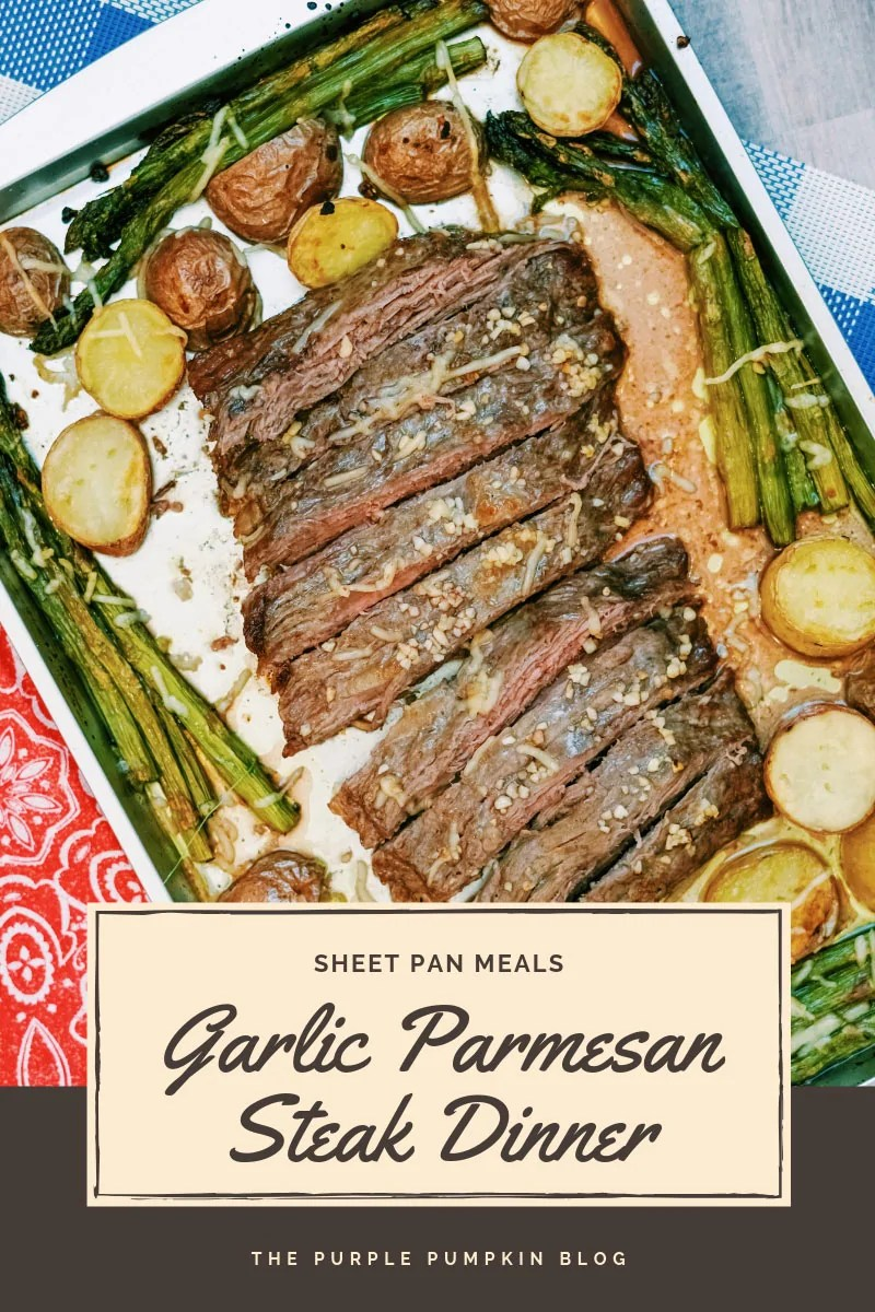 Garlic Parmesan Steak Dinner