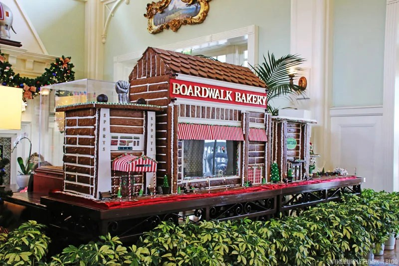 Disney's Boardwalk Bakery - Gingerbread Version