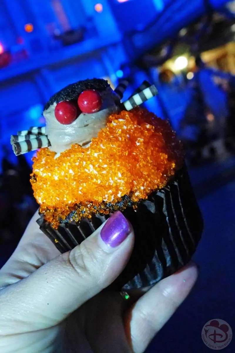 Spider Cupcake at Mickey's Not-So-Scary Halloween Party