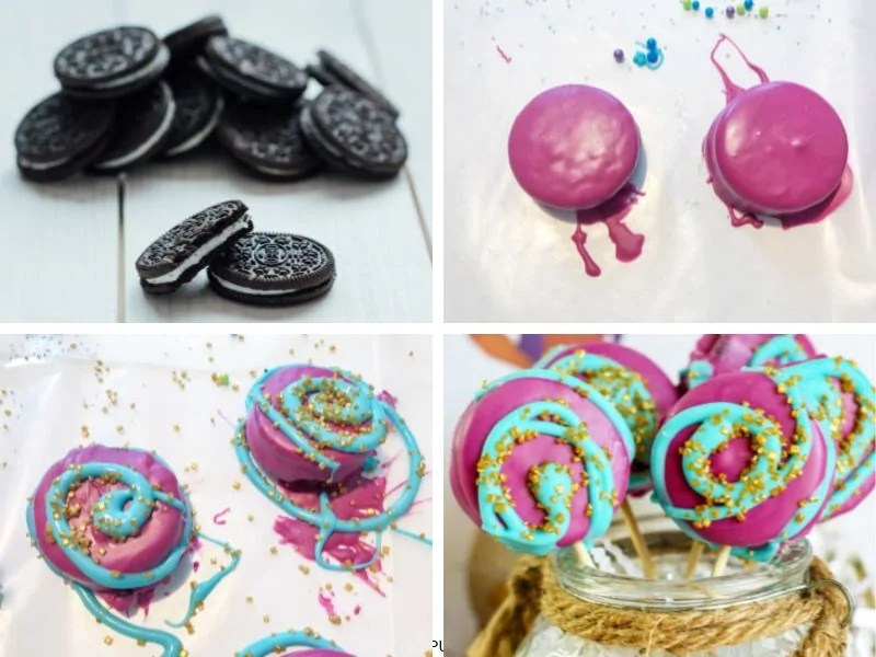 Recipe Card for Aladdin Oreo Cookie Pops