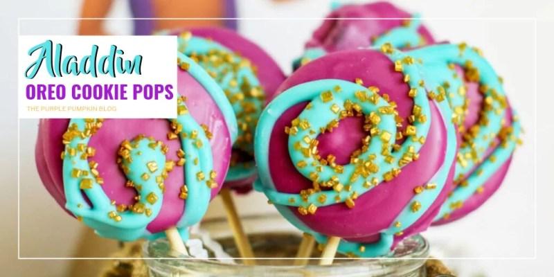 Aladdin Oreo Cookie Pops