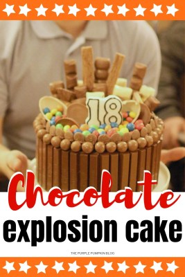 How To Make A Chocolate Explosion Cake