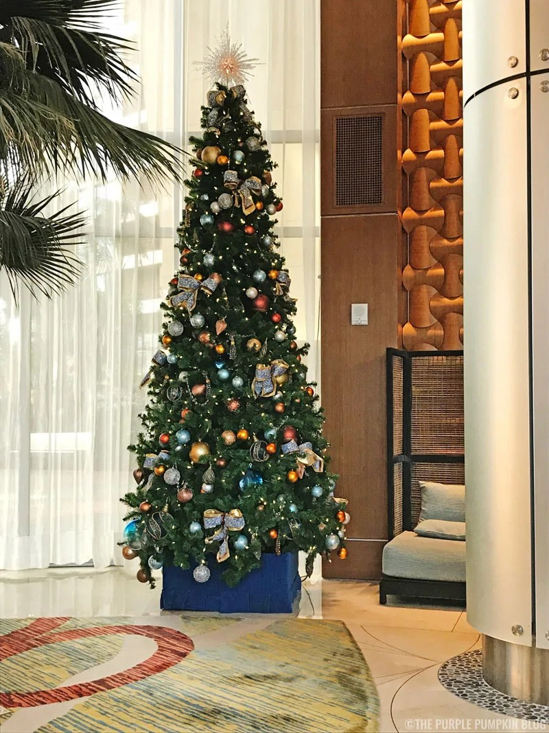 Bay Lake Tower Christmas Tree