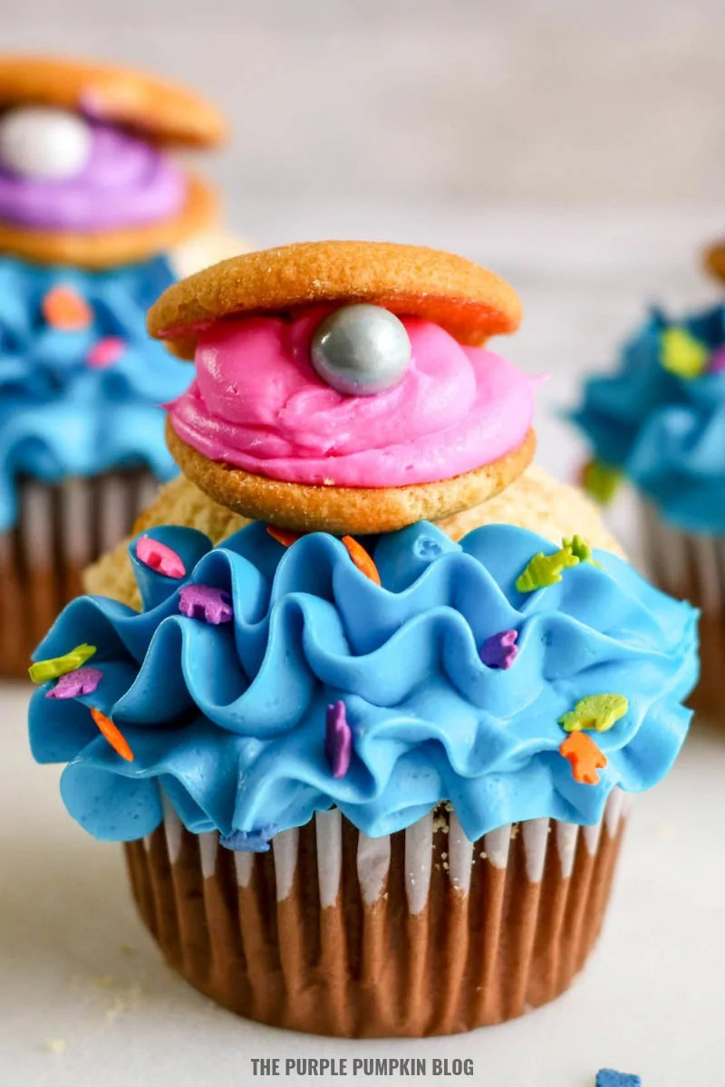 Pearl Oyster Cupcake