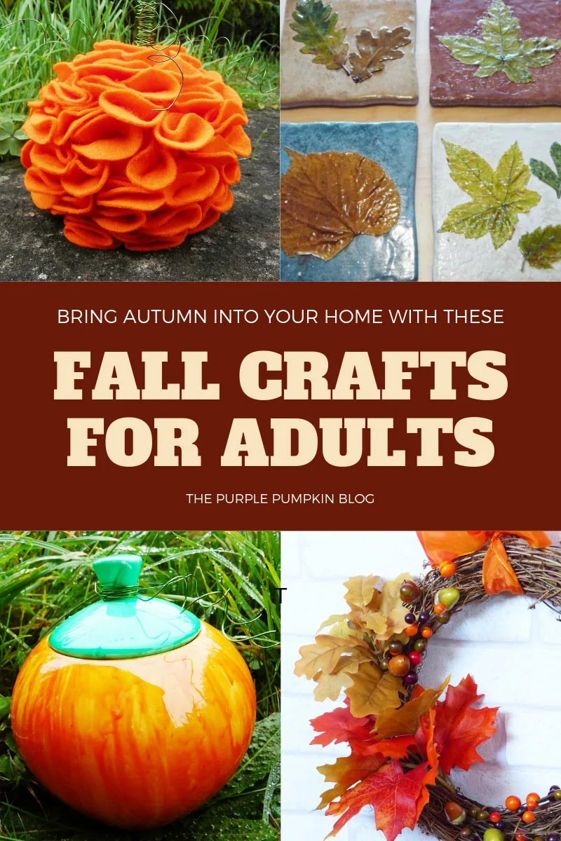 Bring Autumn into your home with these Fall Crafts for Adults