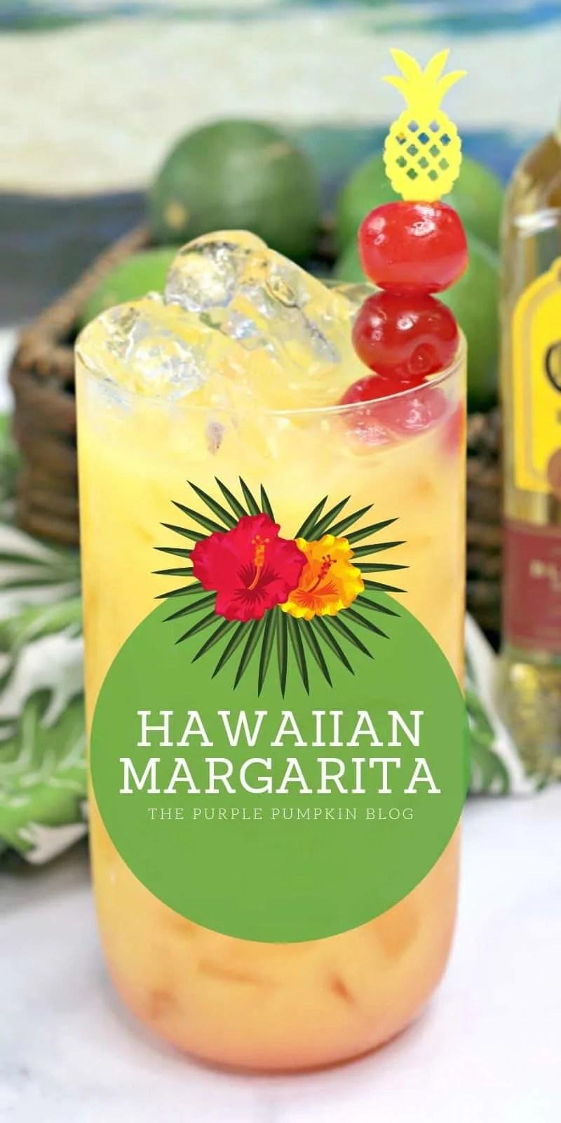 Glass of Hawaiian Margarita