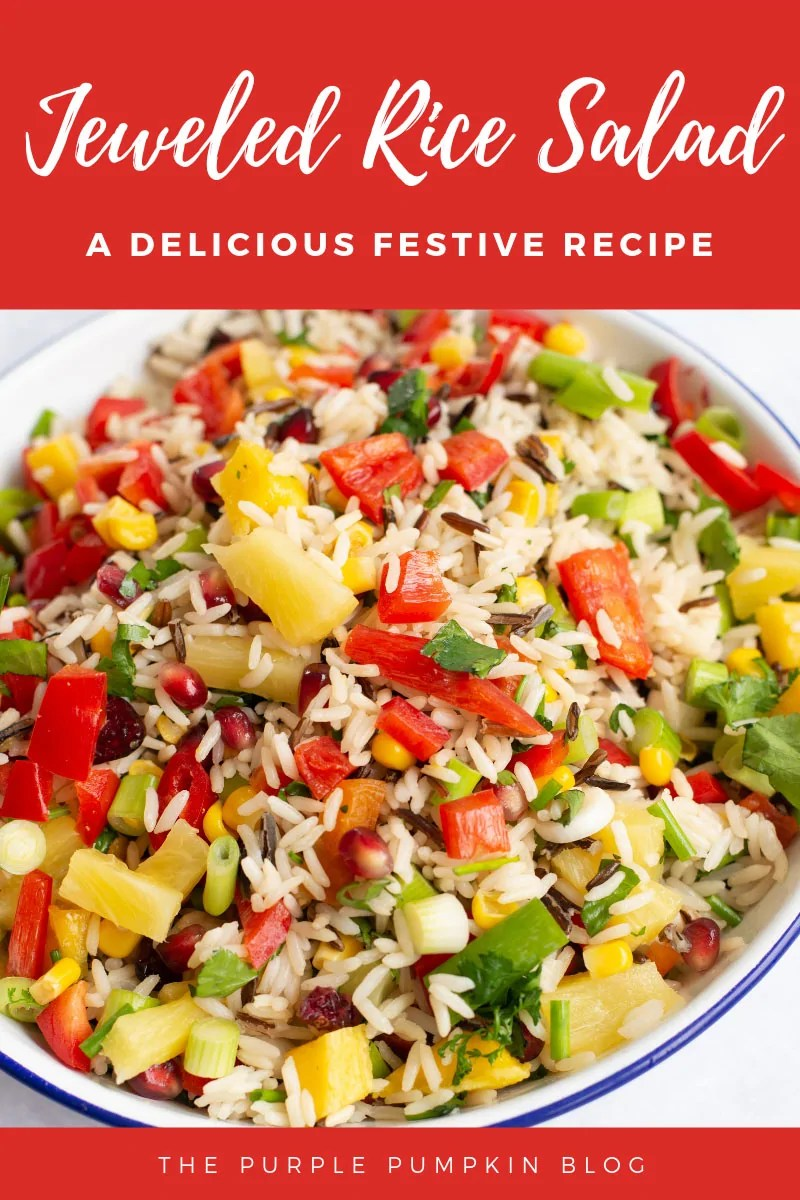 Jewelled Rice Salad - a delicious Festive recipe