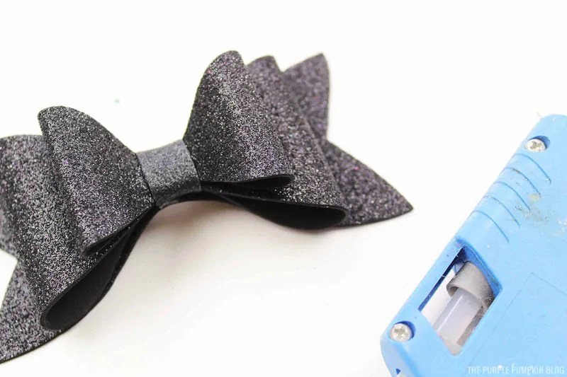 Completed Mickey Ears Bow