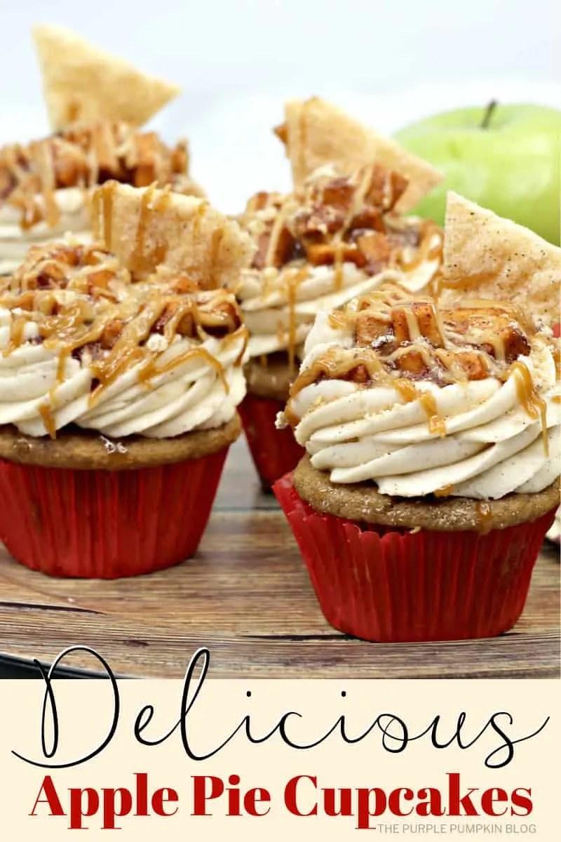 Delicious Apple Pie Cupcakes