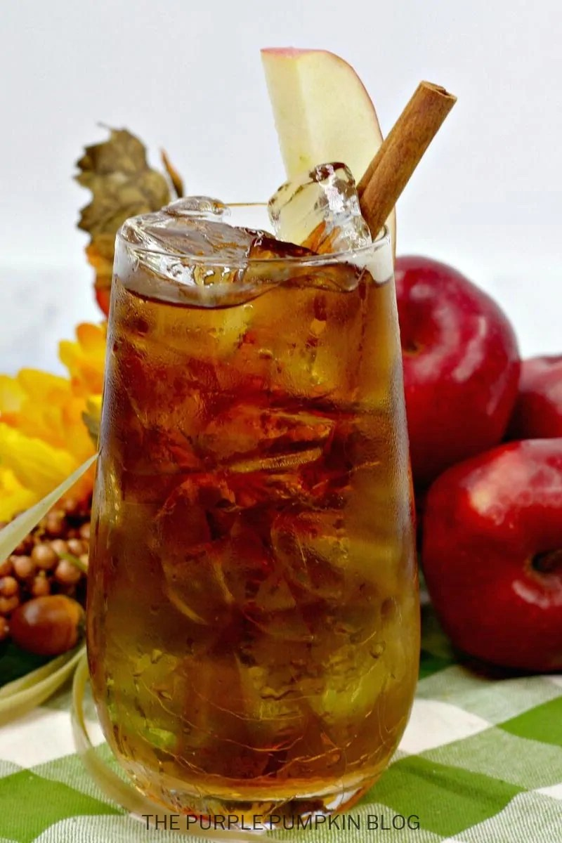 Fall Cocktail - Apple Cider Dark & Stormy