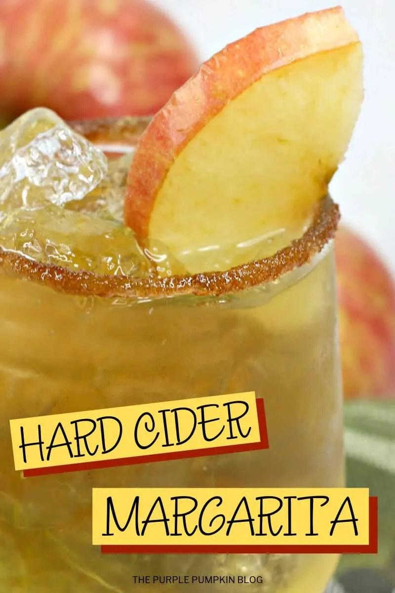 Hard Cider Margarita
