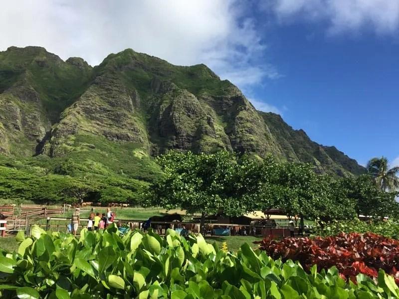 Kualoa Ranch - Oahu Hawaii
