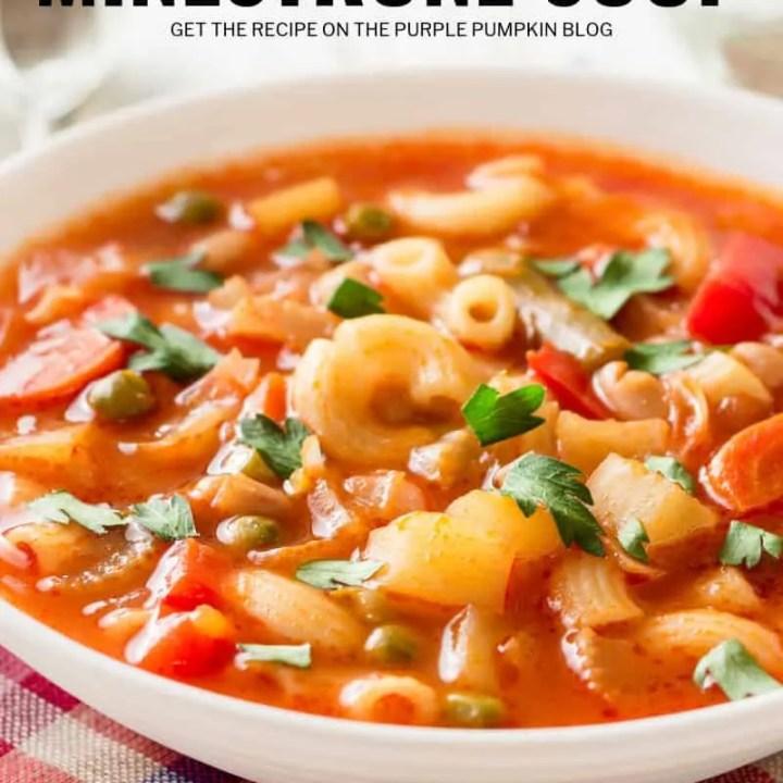 Low Calorie Minestrone Soup
