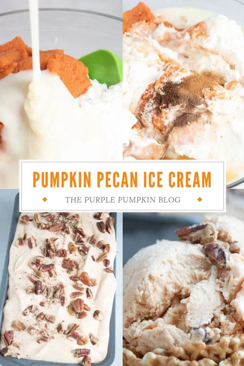 Pumpkin Pecan Ice Cream