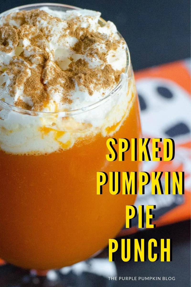 Spiced Pumpkin Pie Punch