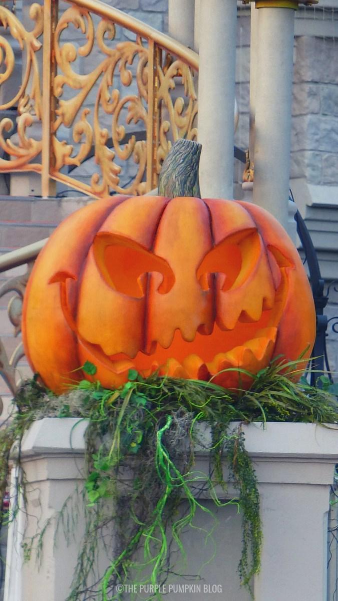 Spooky Disney Pumpkin