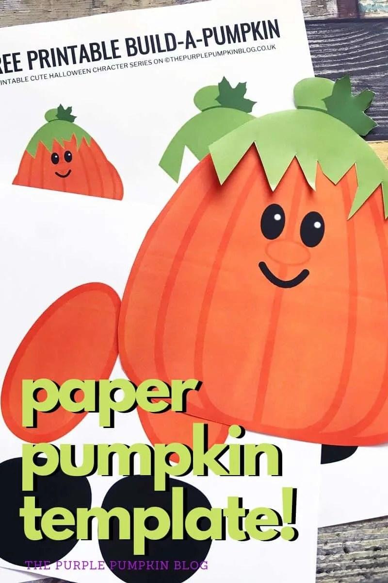 paper pumpkin template