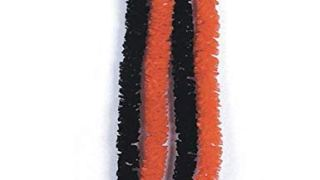 Orange and Black Party Leis