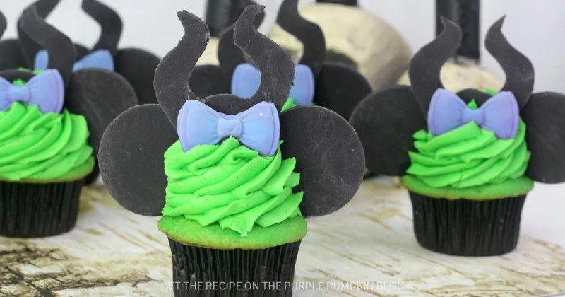 Maleficent Cupcakes