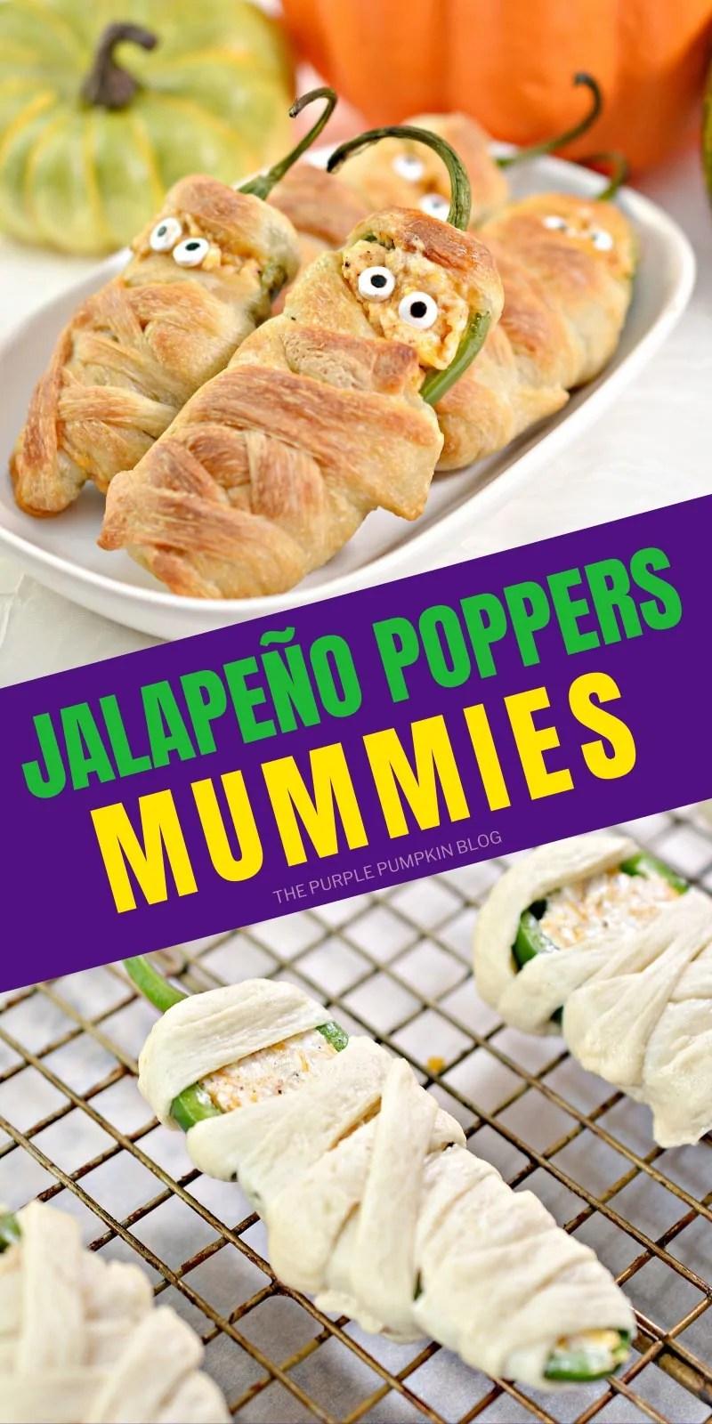 Jalapeño Poppers Mummies