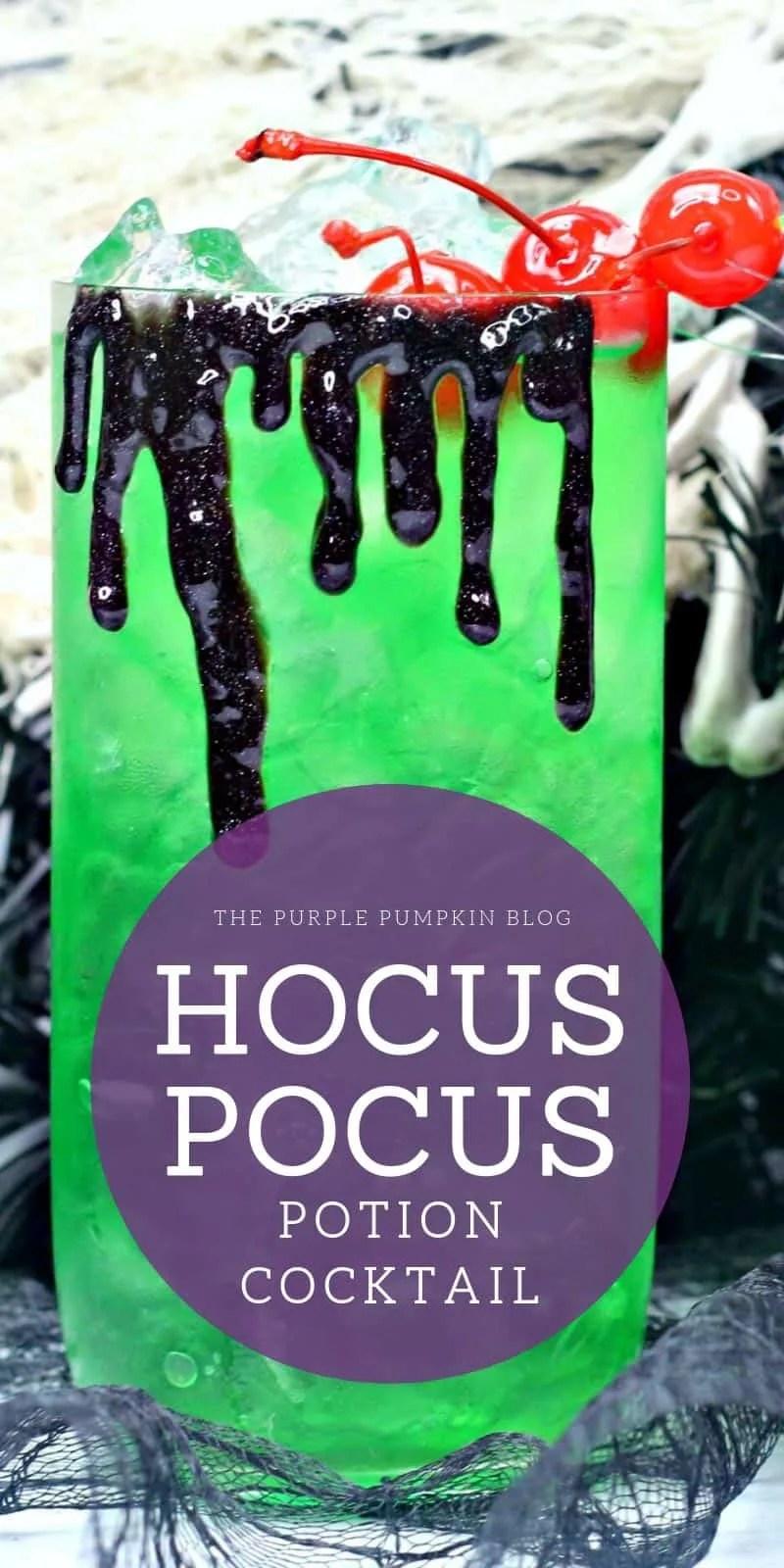 Hocus Pocus Potion Cocktail