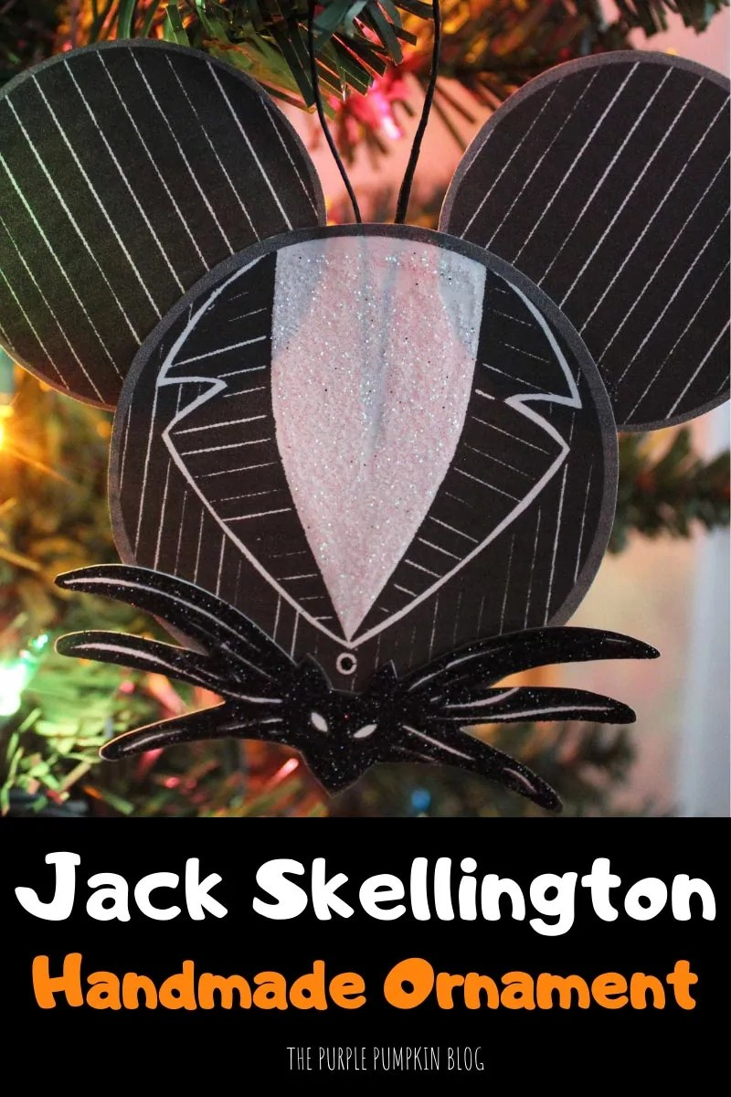 Jack Skellington Handmade Ornament