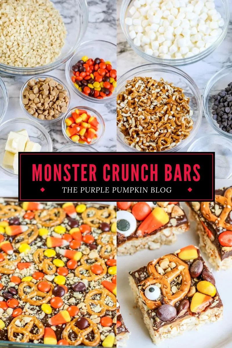 Monster crunch bars ingredients