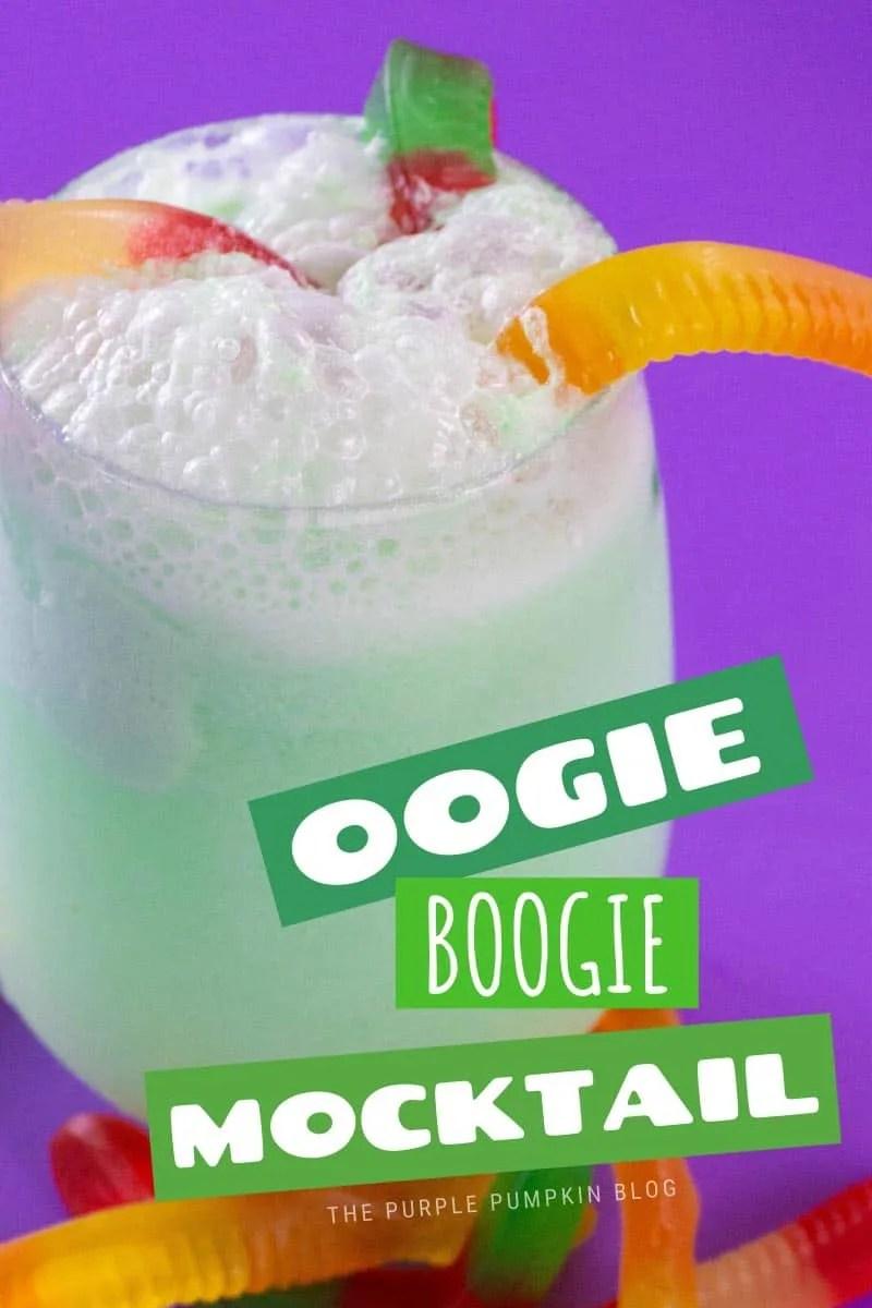 Oogie Boogie kids drink for Halloween