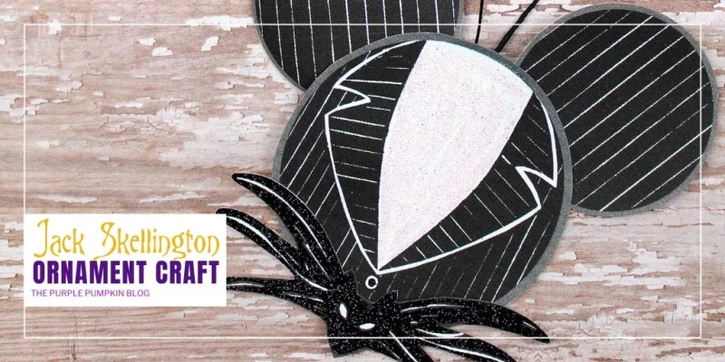 Jack Skellington Paper Ornament