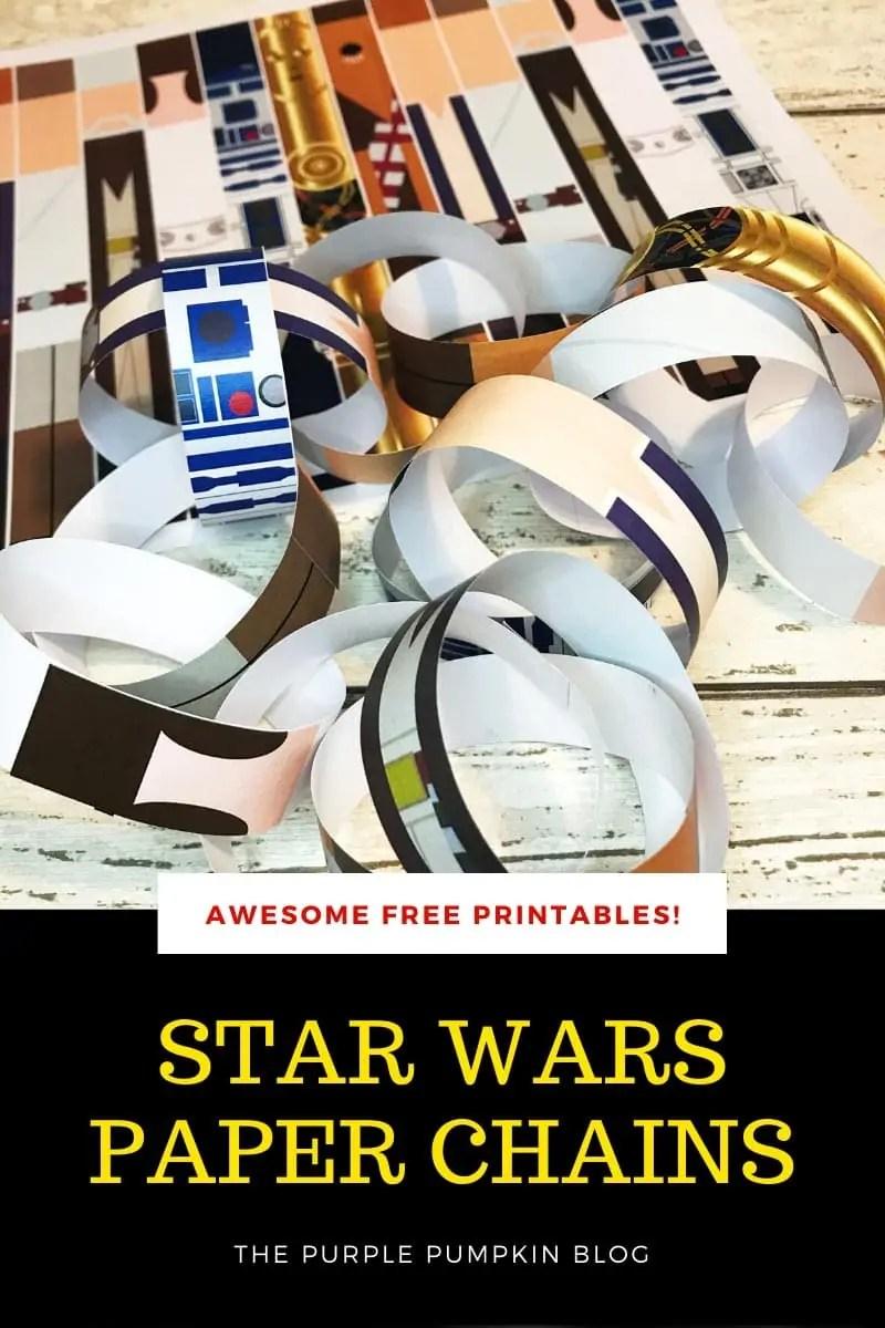 Star Wars paper chains