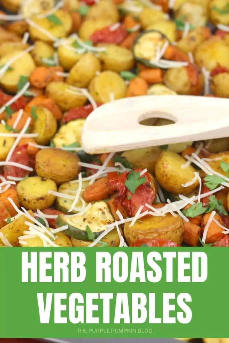 Herb roasted vegetables
