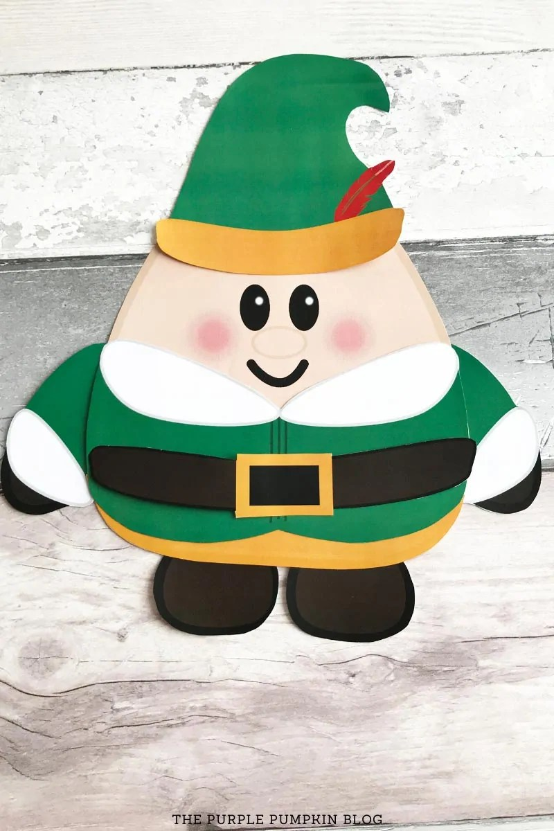 Assembled Buddy the Elf Paper Printable