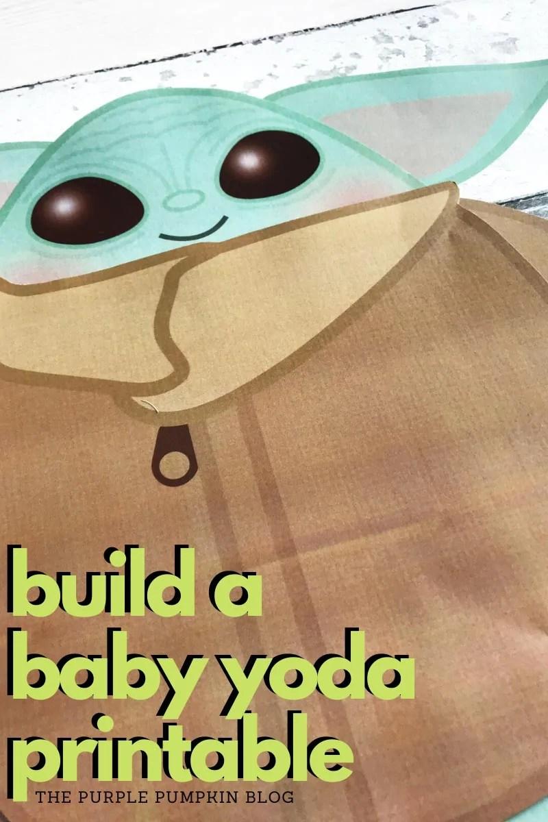 Build a Baby Yoda printable
