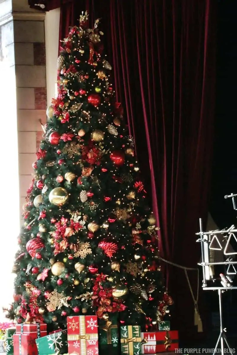 Christmas Tree at Candlelight Processional