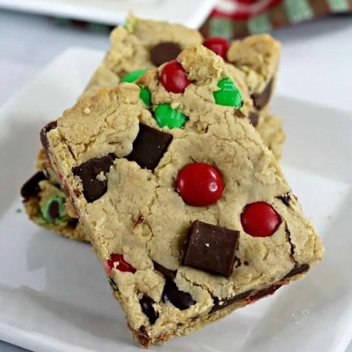 Reindeer Cookie Bars