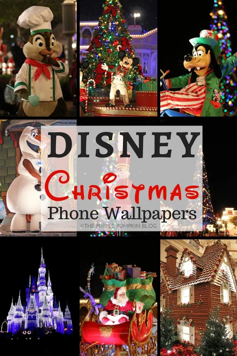 Disney World Christmas Wallpapers