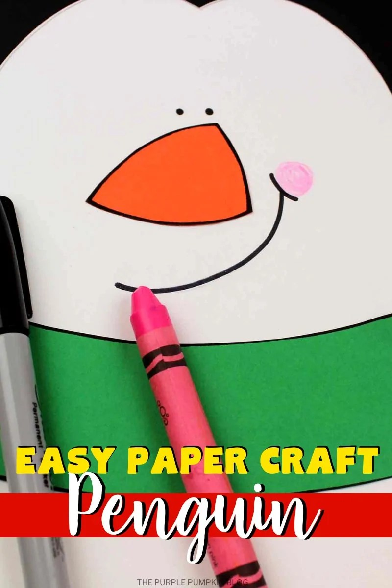 easy paper craft penguin