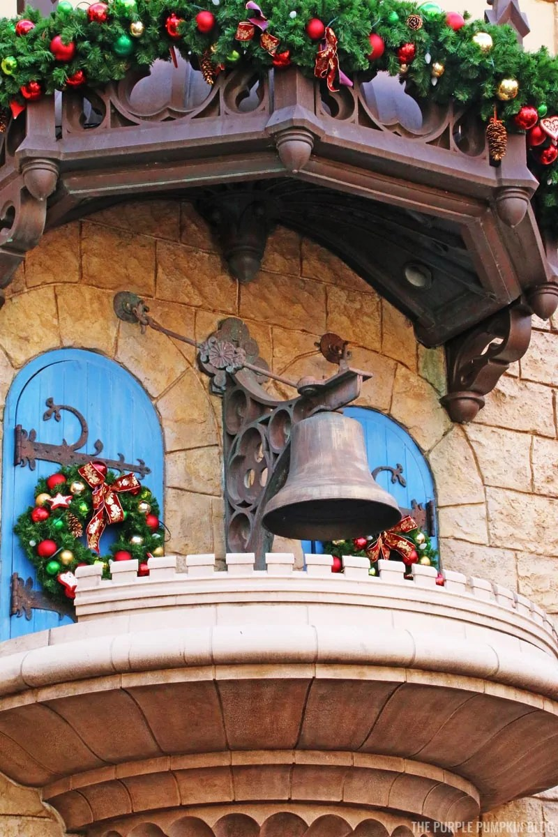 Bell in Germany Pavilion, Epcot