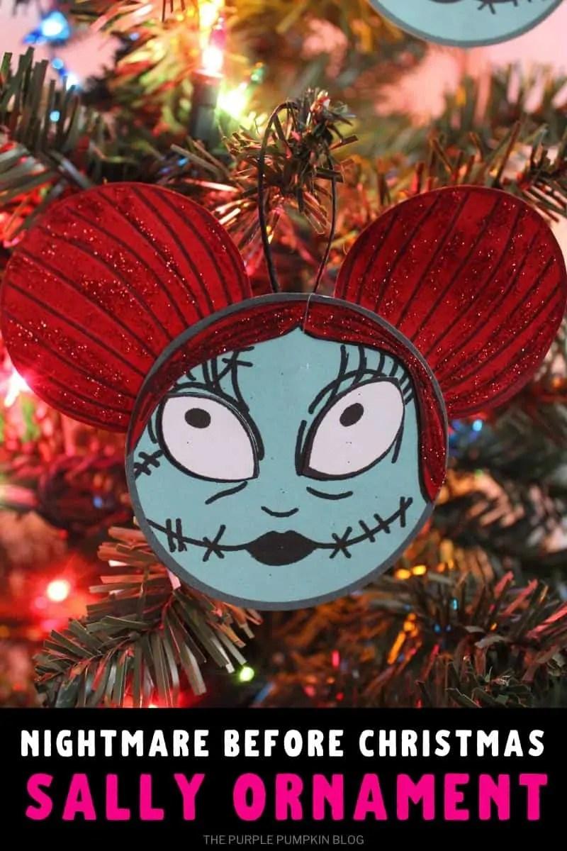 Nightmare Before Christmas Sally Ornament